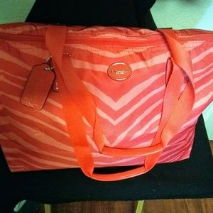 Authentic Coach Weekend tote